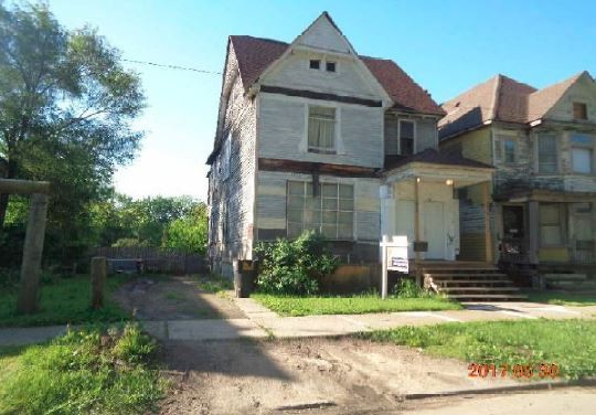 St Paul Street Detroit MI Duplex Purchase and Reno