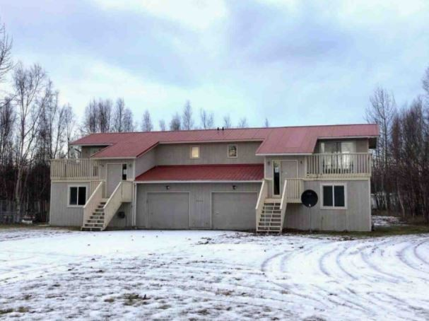W Snowcrest Wasilla Alaska Duplex Purchase and Rehab