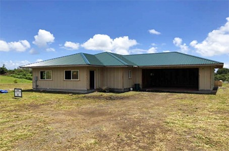 Hilo Hawaii Residential New Construction Refinance