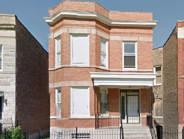 Rhodes Avenue Chicago Fourplex Refi and Rehab